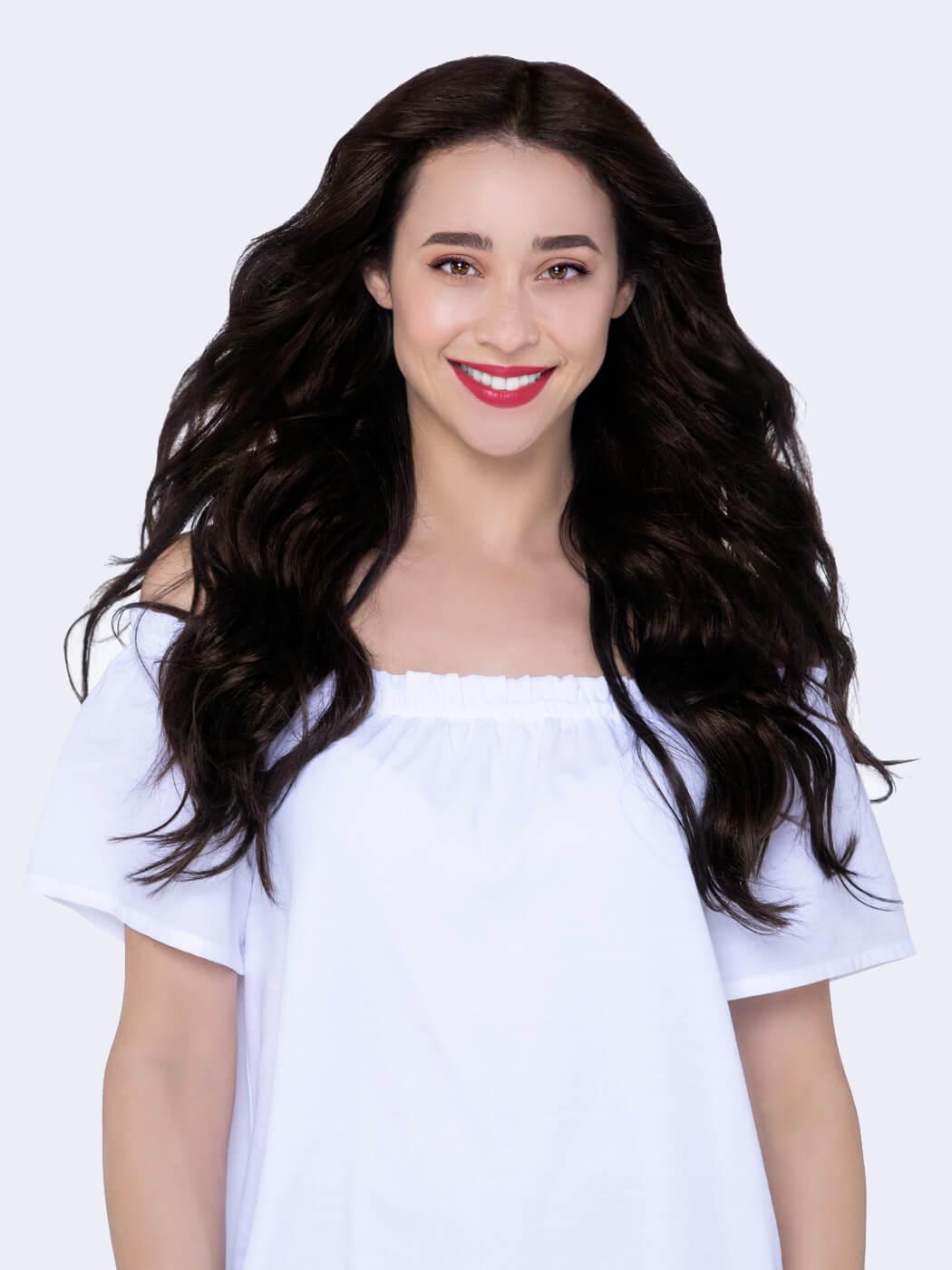 Natural Hair Clip Ins   Real Human Hair Extensions   20 Inch Hair Extensions   Hair Extensions For Thin Hair   Remy Hair