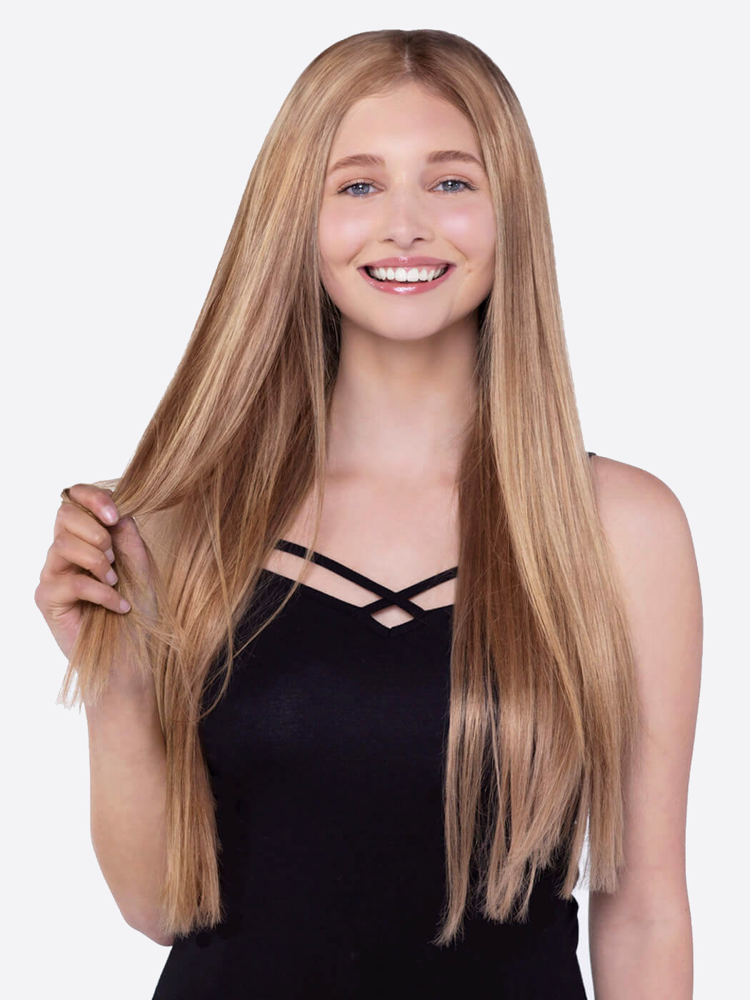 Blonde Hair Extensions | 20 Inch Hair Extensions | Natural Hair Clip Ins | Hair Extensions For Thin Hair | Remy Hair