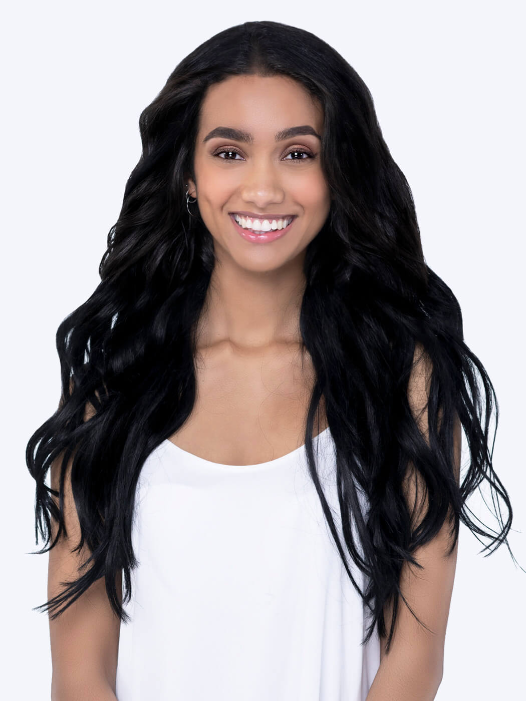 Real Human Hair Extensions | Best Hair Extensions | Black Hair Extensions | 20 Inch Hair Extensions | Remy Hair Extensions